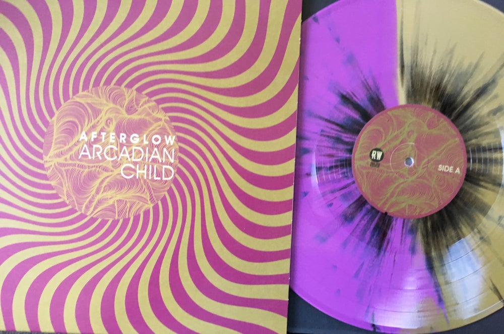 "Image of Arcadian Child - Afterglow ""Shimmering Light"" Multicolored  LimitedEdition Vinyl LP"