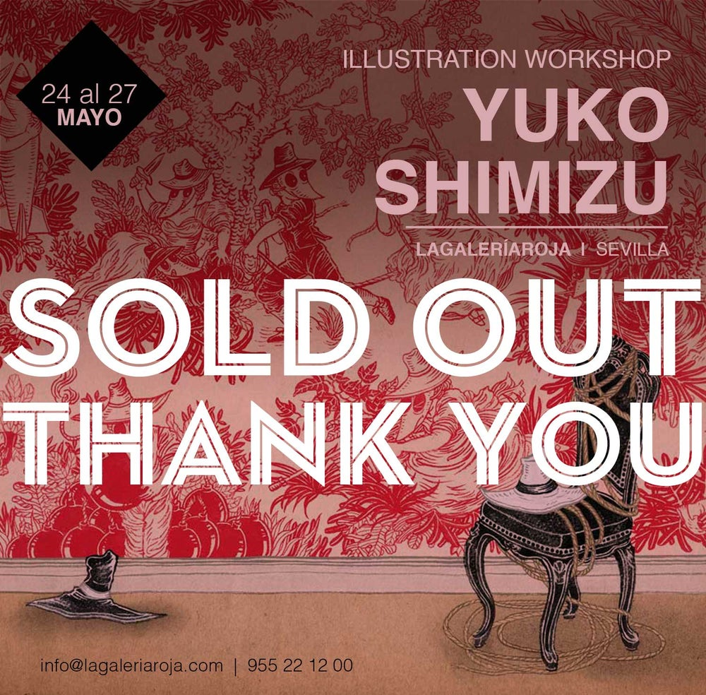 Image of SOLD OUT: 4 day May illustration workshop in Seville, Spain