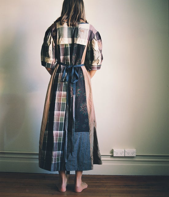 Image of Patchwork Ragdoll Dress #3