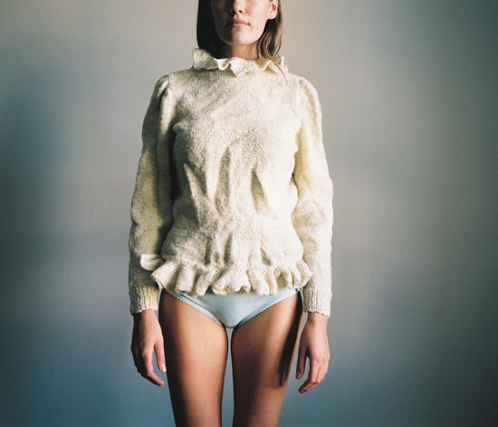Image of Handspun Dancing Cardigan
