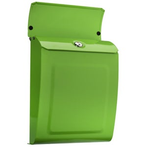Image of Lime Green Locking or Non Locking Mailbox by TheBusBox - Choose Your Color Bright, Neon, Porch