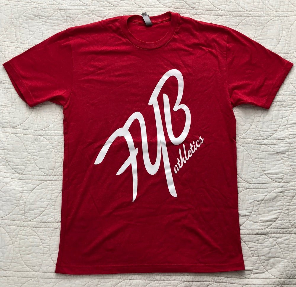 """Image of """"45°"""" MENS CREW - RED"""