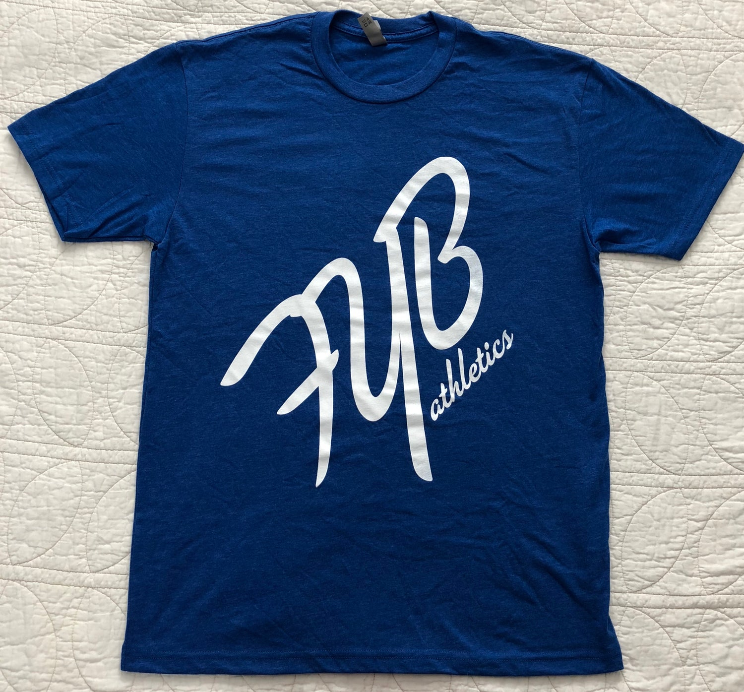 "Image of ""45°"" MENS CREW - BLUE"