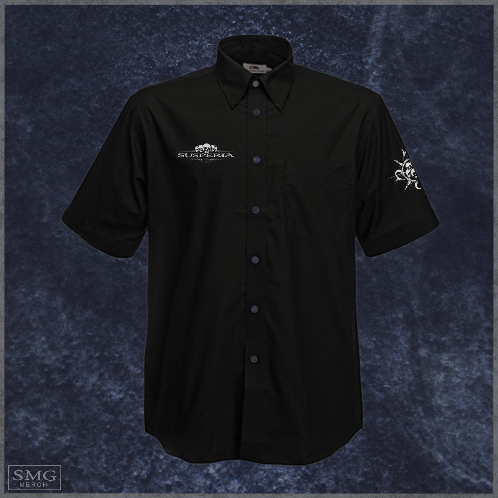 Image of Susperia - Scull-logo - Worker shirt