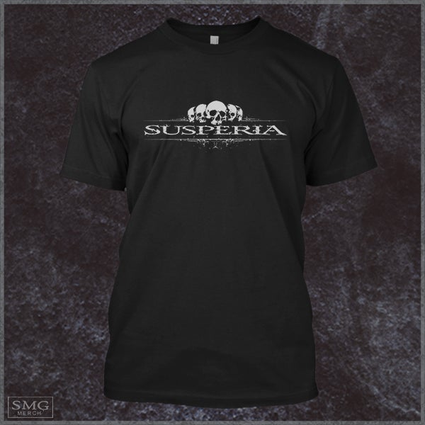 Image of Susperia - Scull-Logo T-Shirt