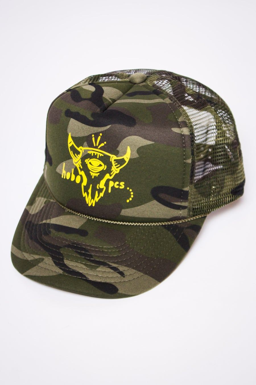 Image of Camo Trucker Hat