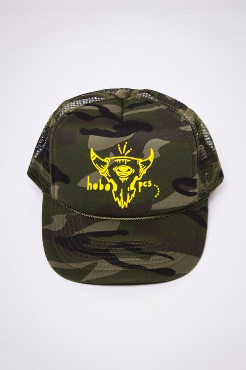 Image of Camo Trucker Hat