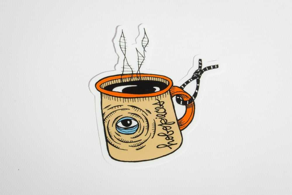 Image of Coffee Sticker