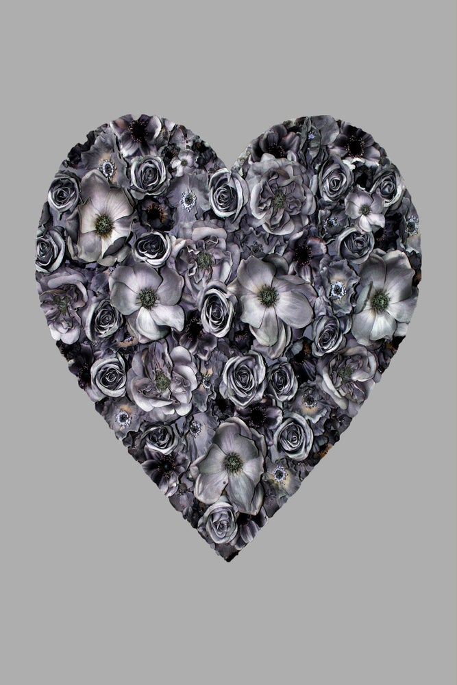Image of Grey Heart (Limited Edition Print)