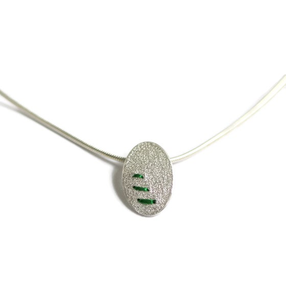 Image of Mini Sewn Up necklace