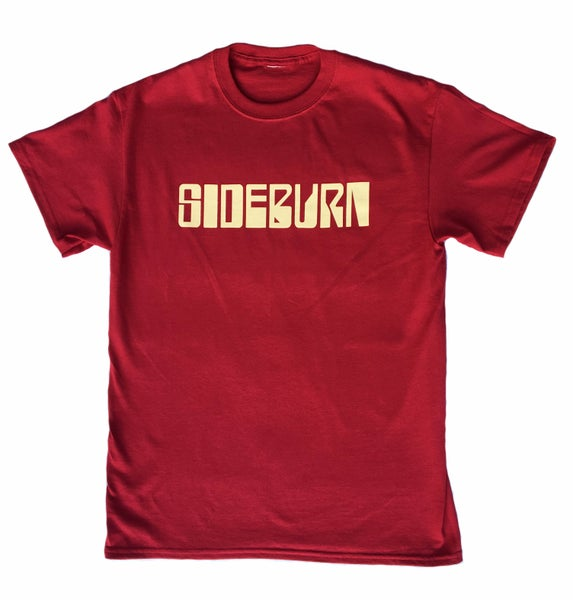 Image of Sideburn Rollerball Cardinal Red T-shirt