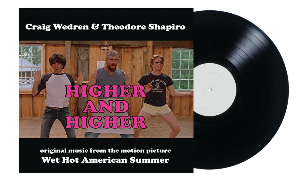 "Image of Higher and Higher - Wet Hot American Summer 7"" Single (Craig Wedren & Theodore Shapiro)"