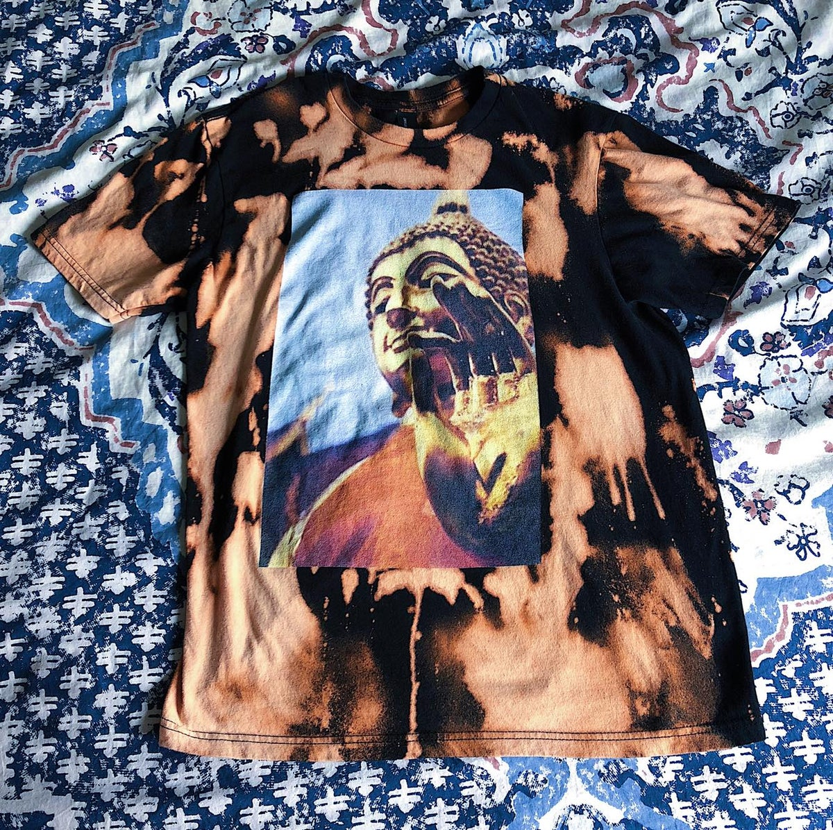 Image of LILSKULLY BLEACHED TSHIRT