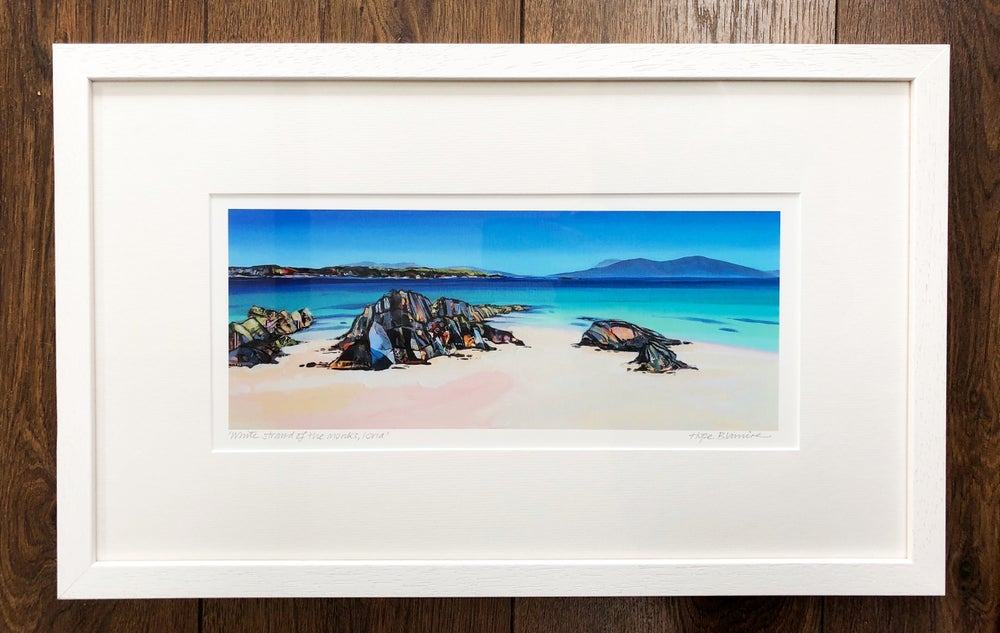 Image of Iona panorama print