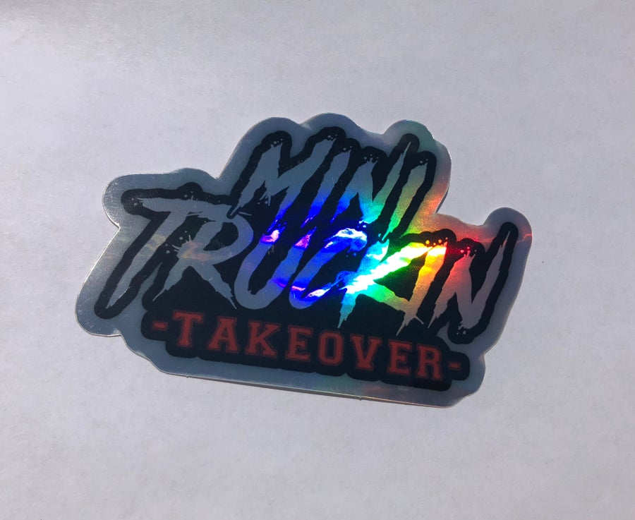 Image of HOLOGRAPHIC STICKER