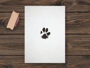Image of CUSTOM PAW STAMP