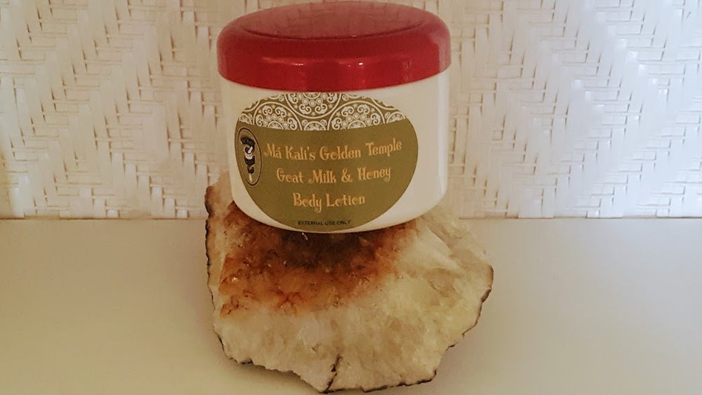 Image of Golden Temple Goats Milk & Honey Body Lotion