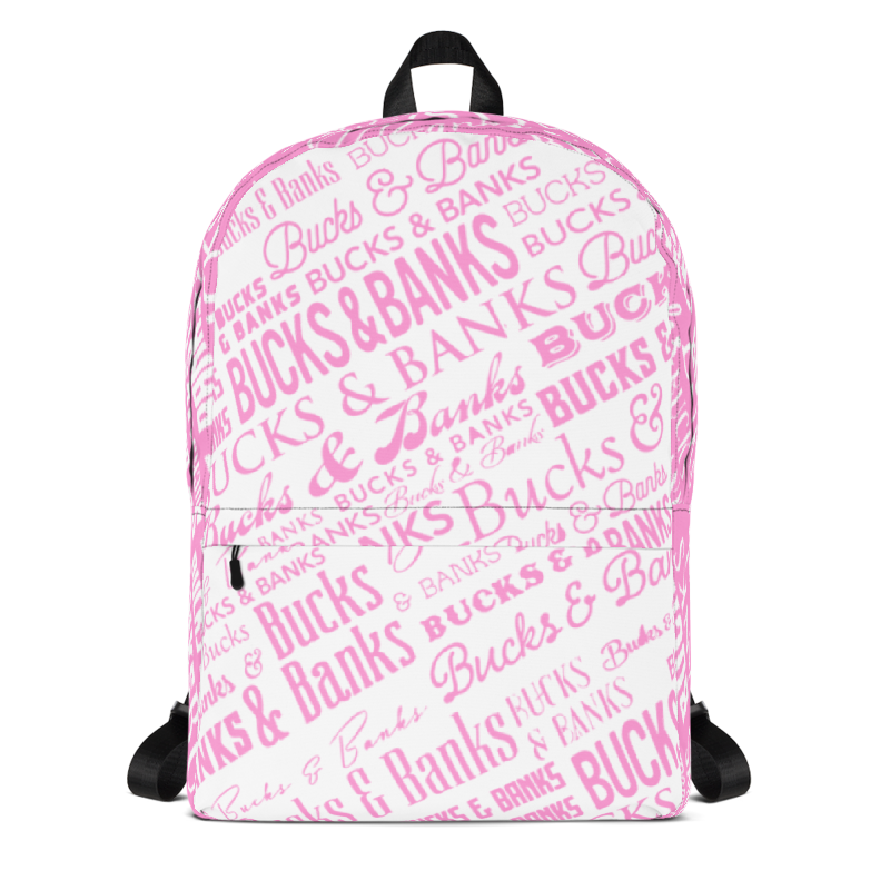 Image of Headlines Backpack Pnk/Wht