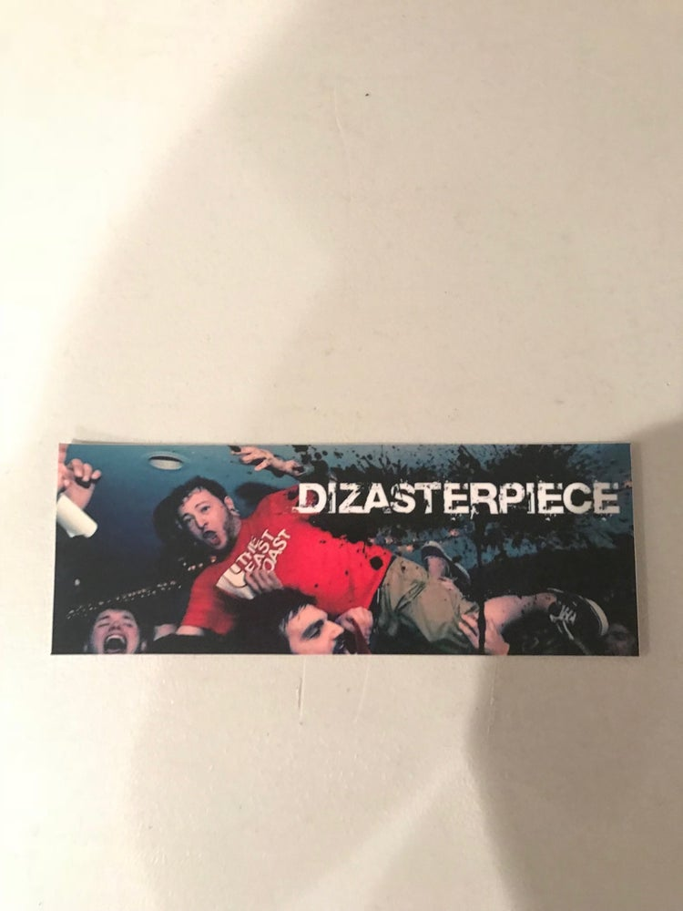 Image of DIZASTERPIECE - Crowd Surfing Sticker