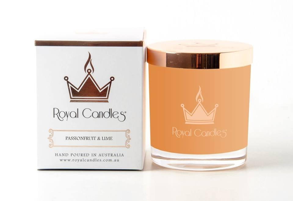 Image of ROYAL CANDLE PASSION FRUIT & LIME