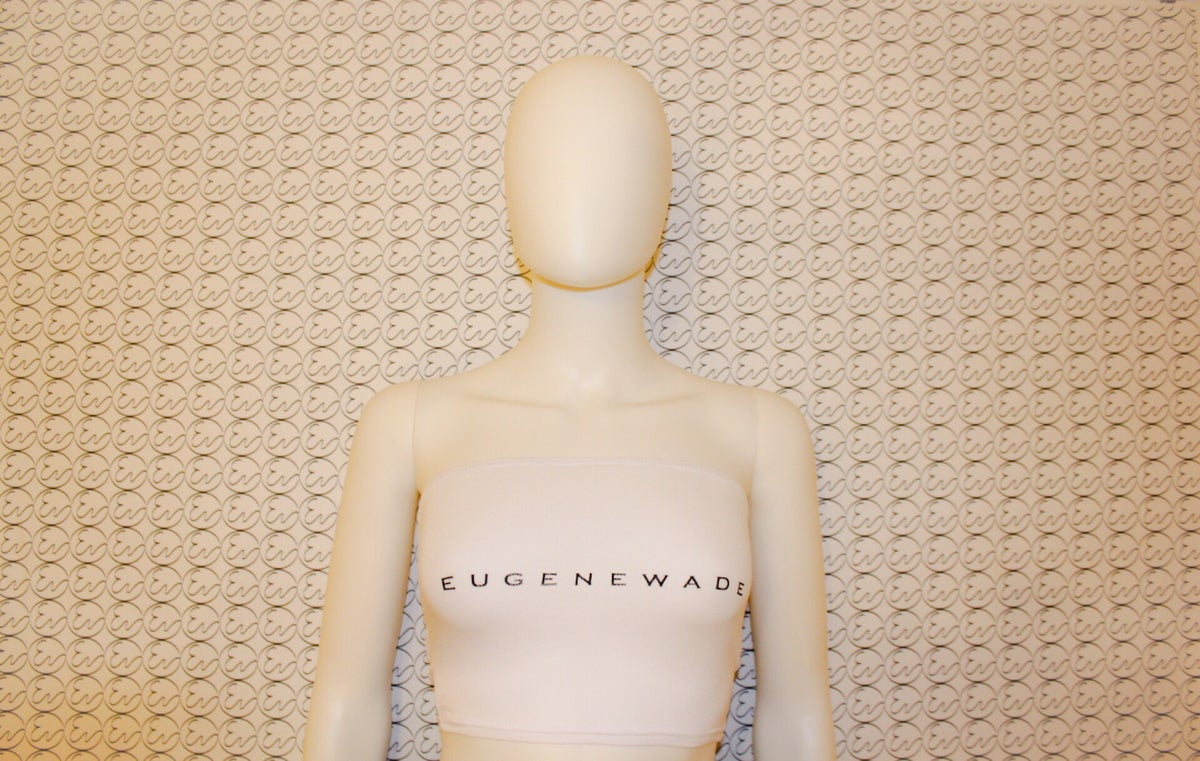 Image of BANDEAU TOPS (White)
