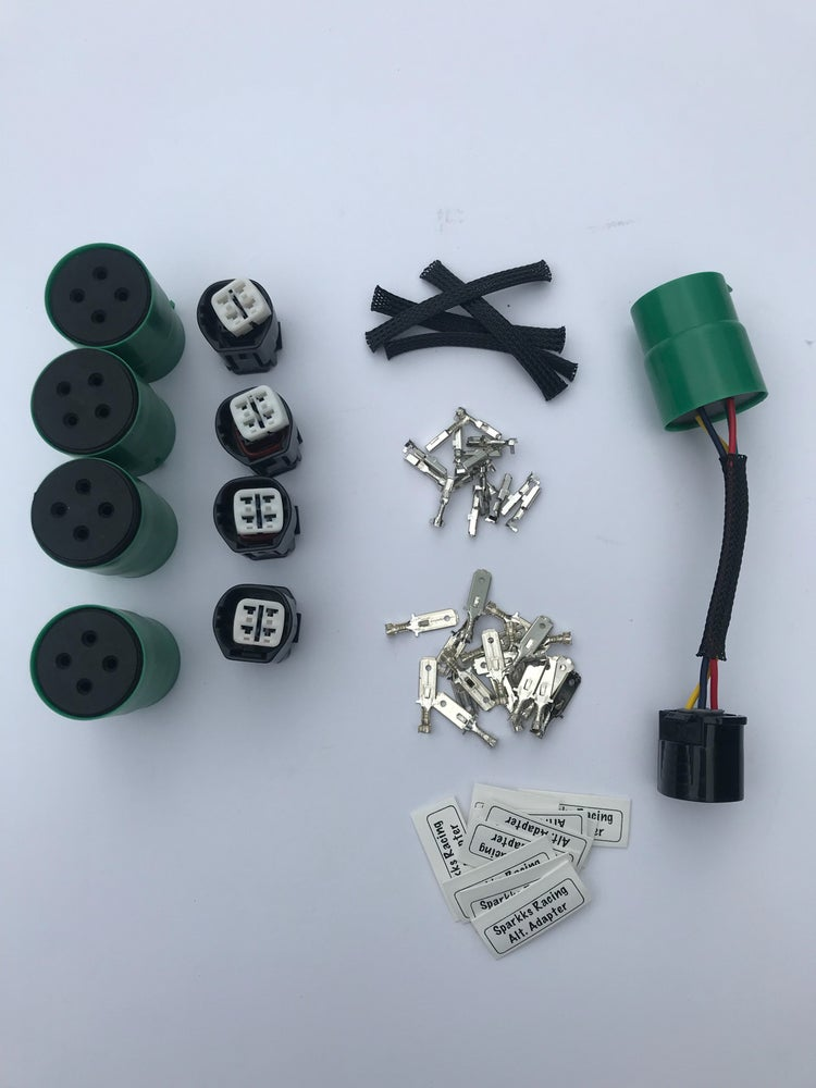 Image of Sparkks Racing OBD 0/1 To OBD2 Alternator Adapter