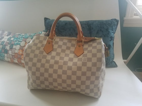 Image of Louis Vuitton Speedy Damier Azur 30