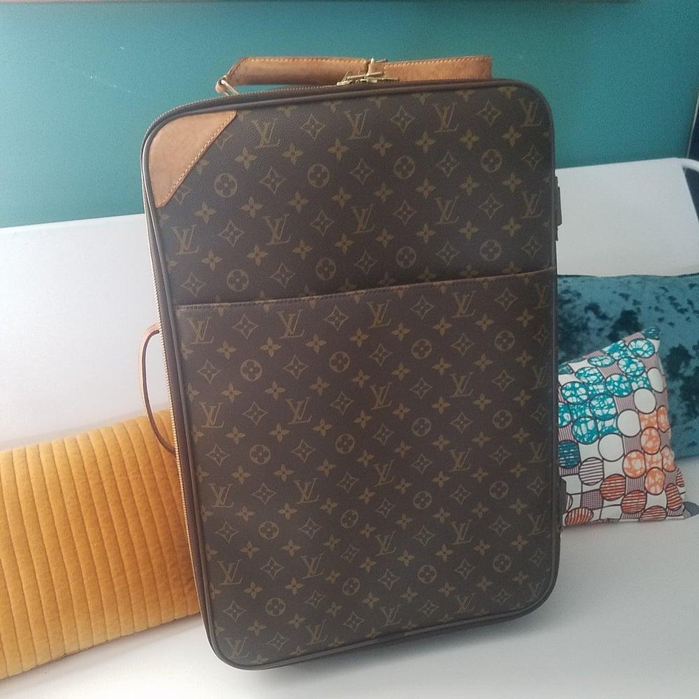 Image of Louis Vuitton Monogram Pegase 55 rolling suitcase