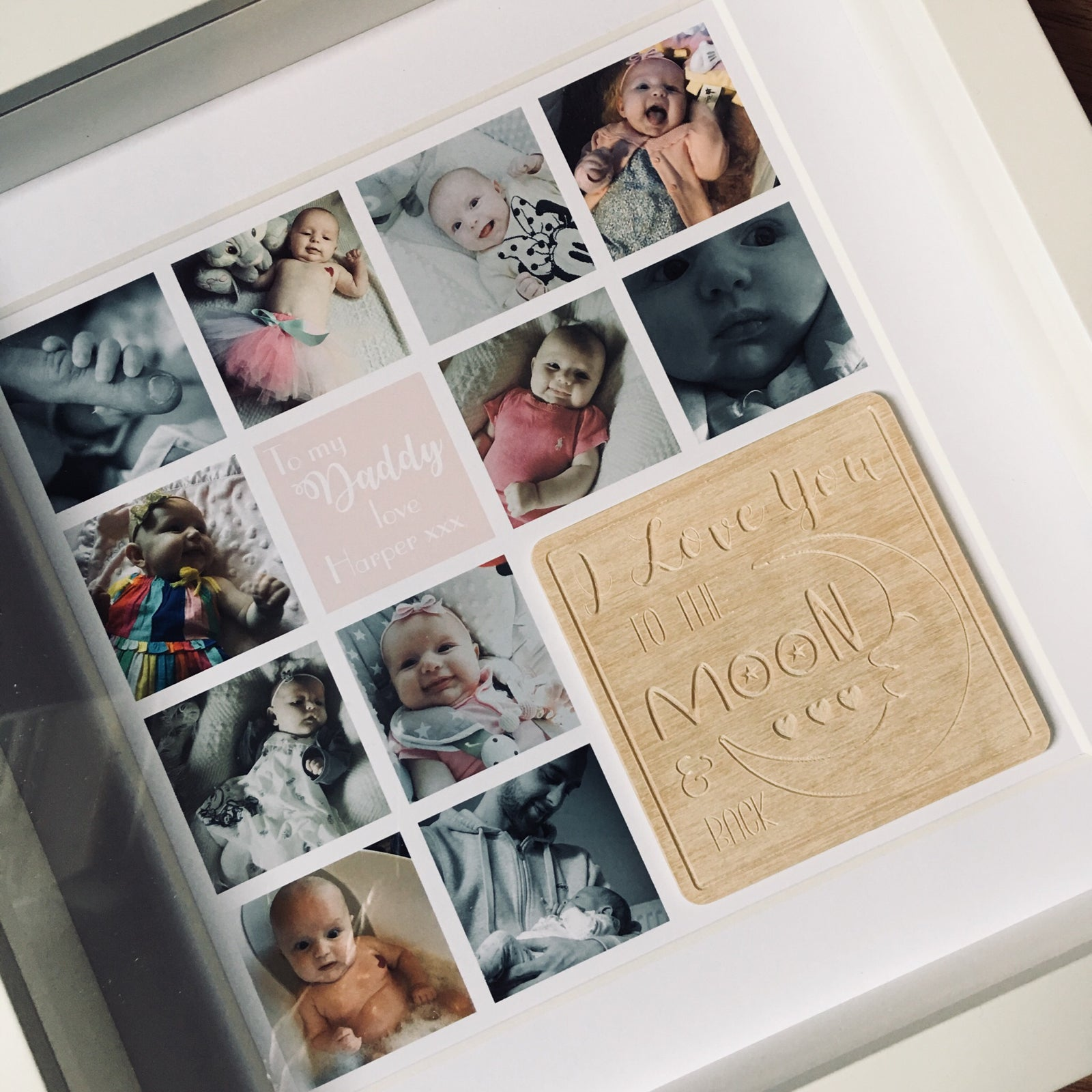 I Love You To The Moon And Back Collage Hayley Jane Designs