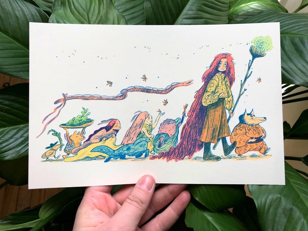 Image of Procession Print