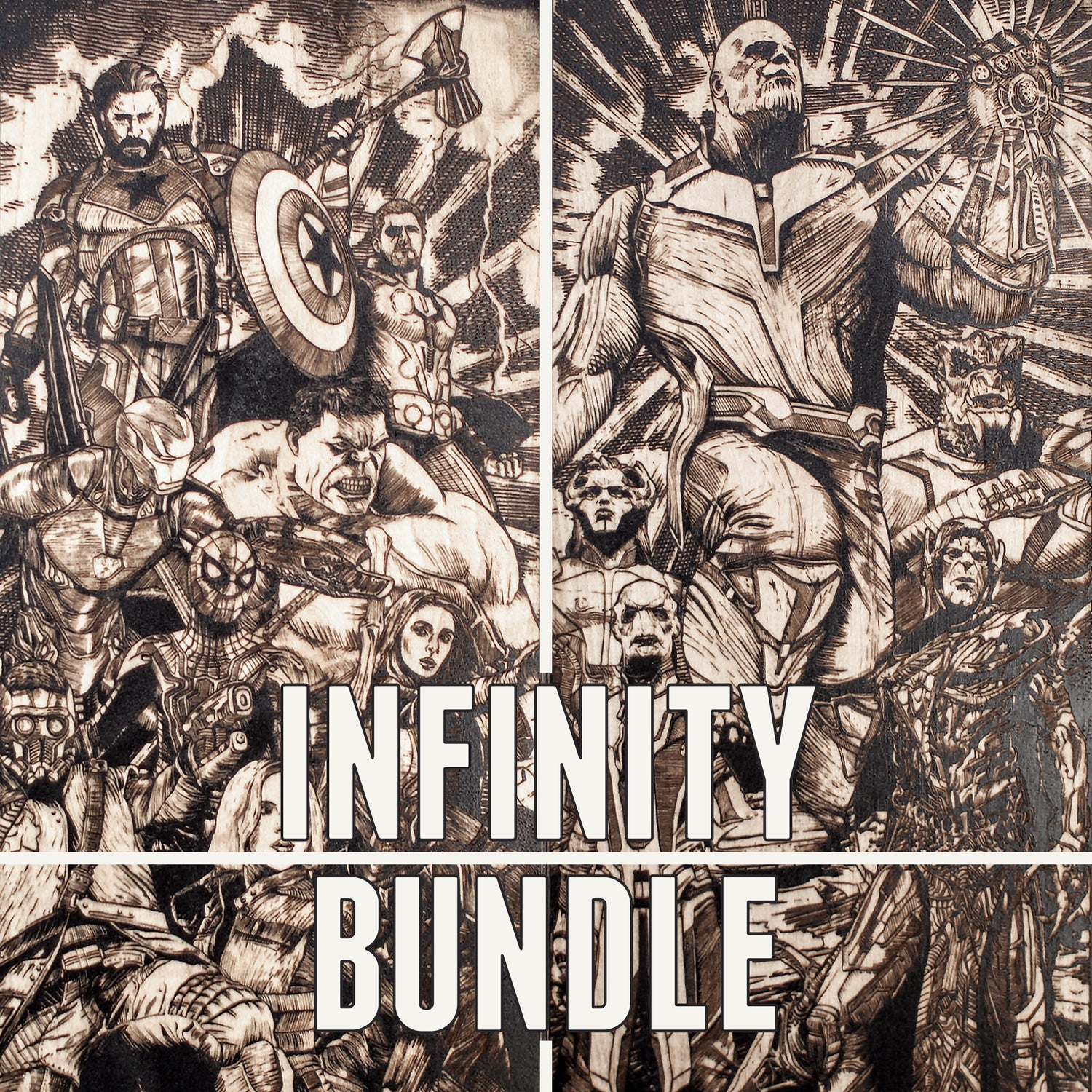 Image of Infinity Black Maple Bundle