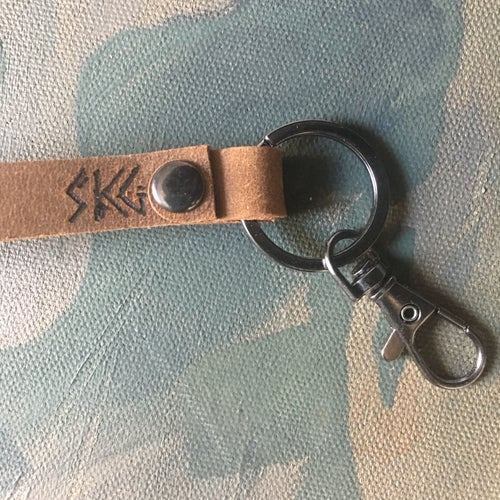 Image of Hand-Branded Key Fob