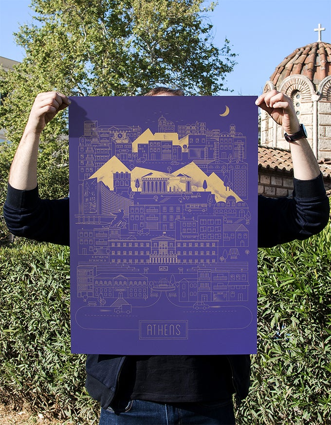 Image of Athens on Lavender
