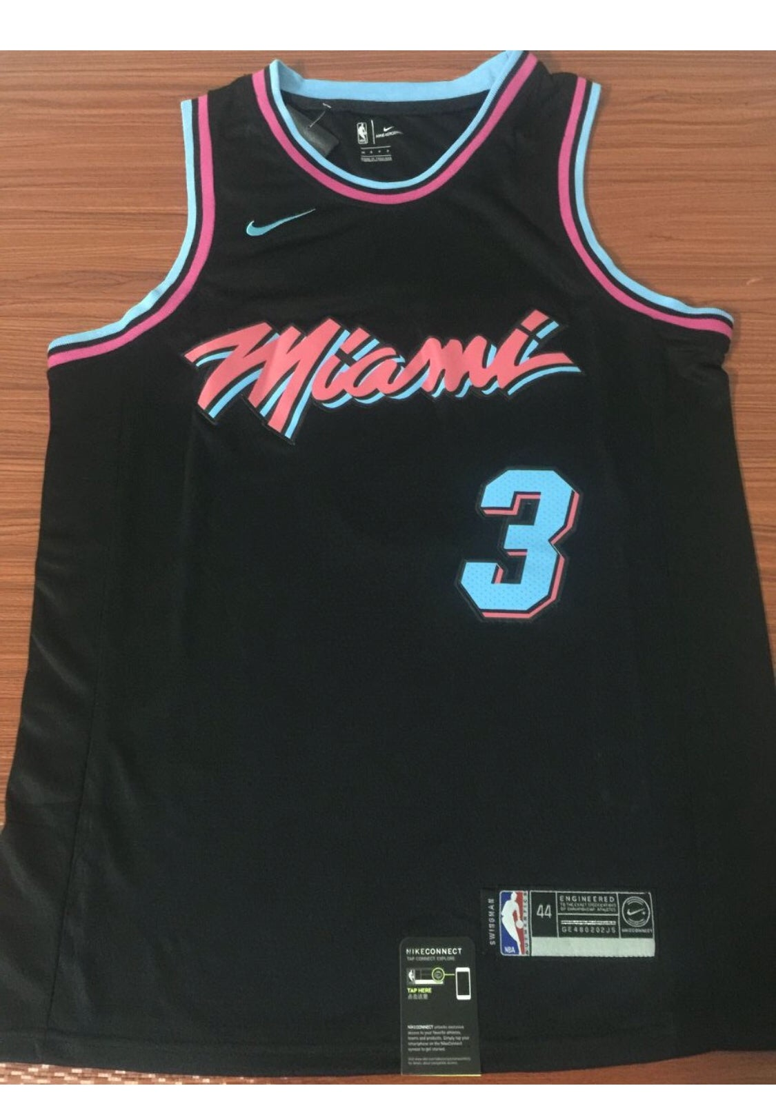 "pretty nice 8c46b 93ef2 Dwyane Wade ""Miami vice Jersey"""