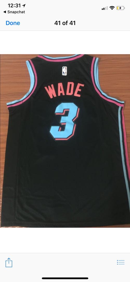 """Image of Dwyane Wade """"Miami vice Jersey"""""""