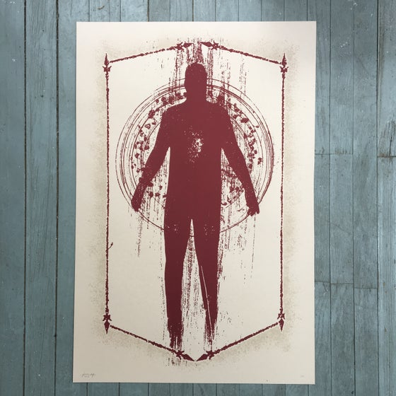 Image of 'disappearer' print