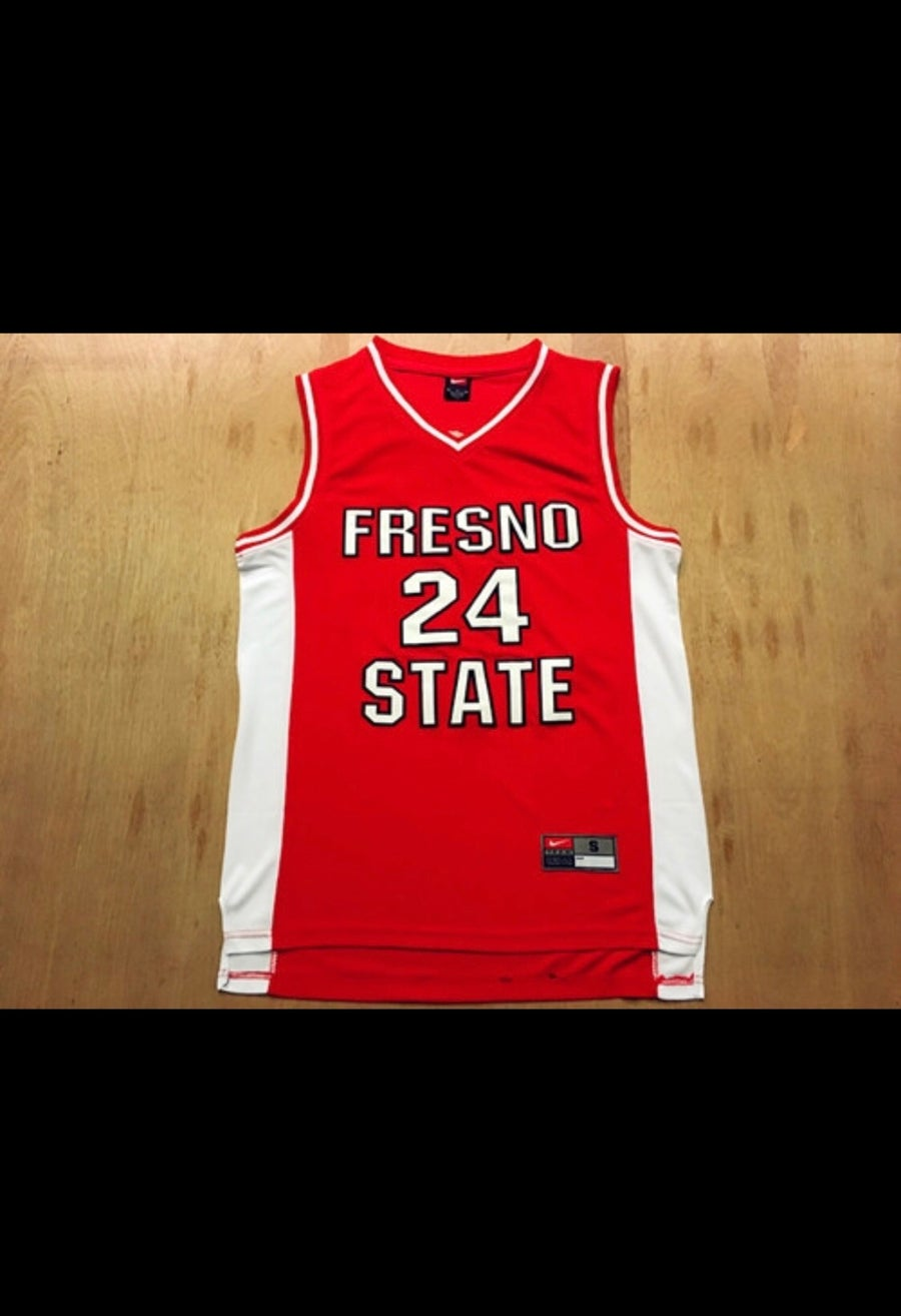 Image of Fresno state Paul George jersey