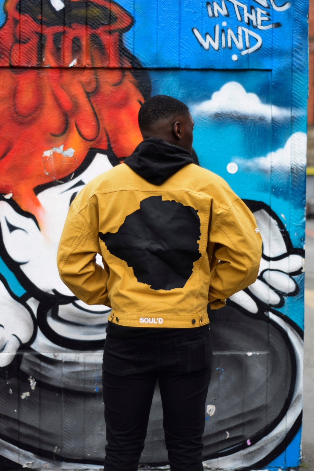 Image of Mustard Soul'd Dreams Denim Jacket