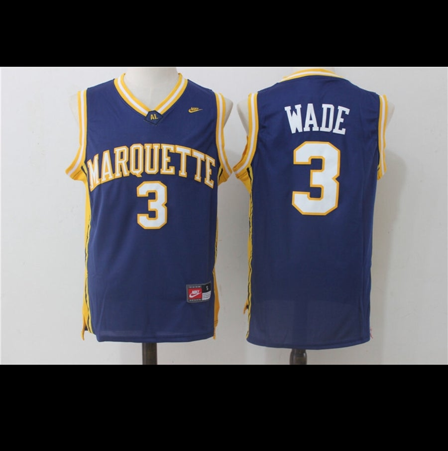 Image of Dwayne wade Marquette jersey