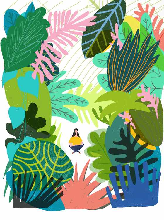 Image of Lost Garden Giclee Print