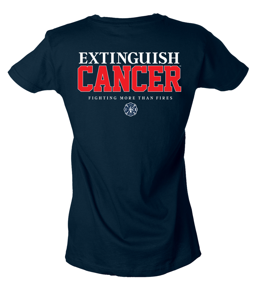 Image of Extinguish Women's Tee (Navy)