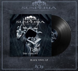Image of Susperia - The Lyricist - CD & LP package