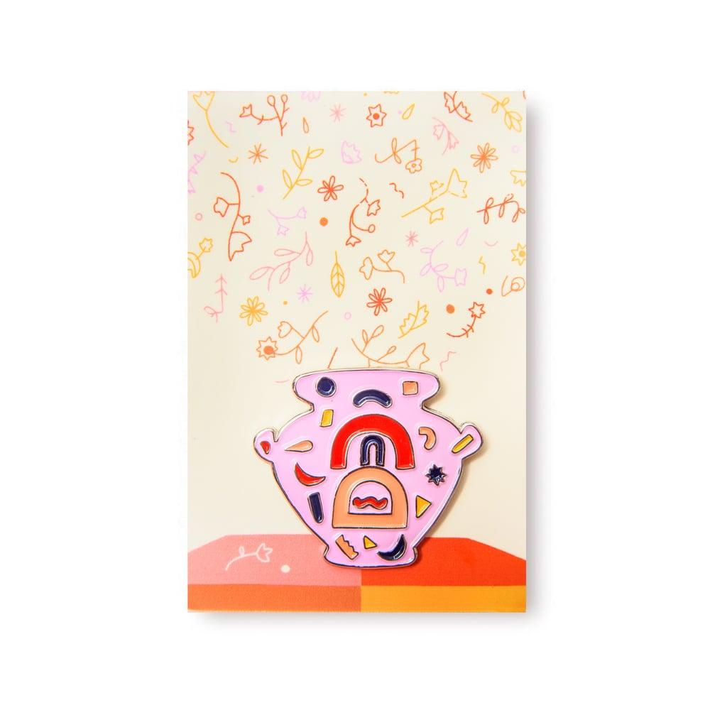 Image of Vase Pin