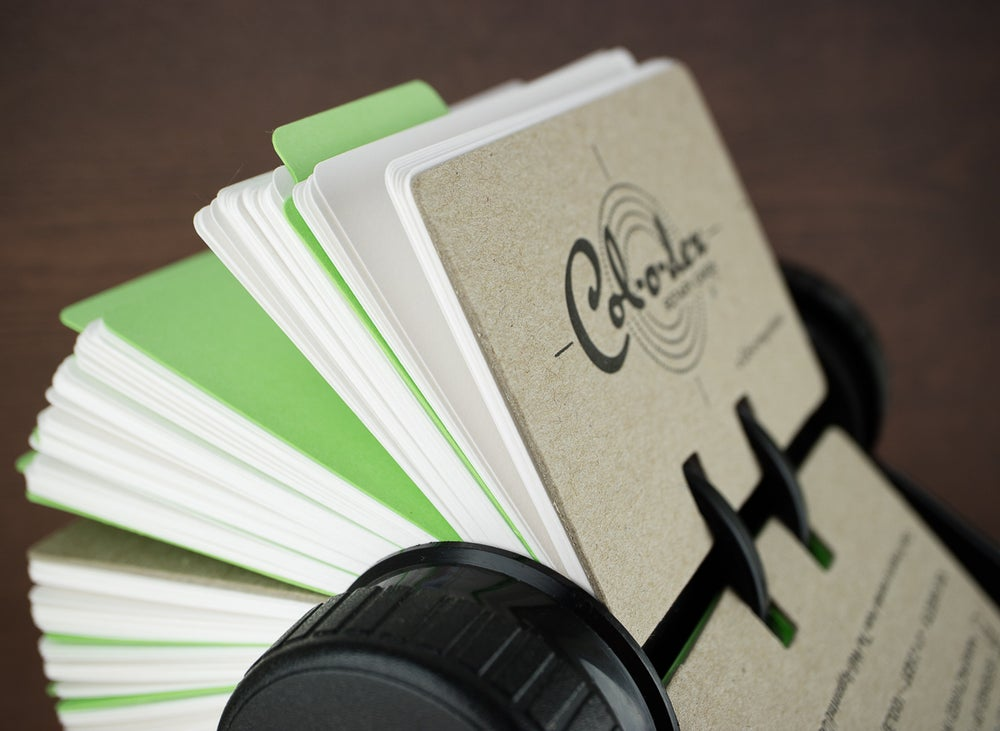 Image of Col-o-dex Rotary Cards