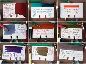 Col-o-dex Rotary Cards