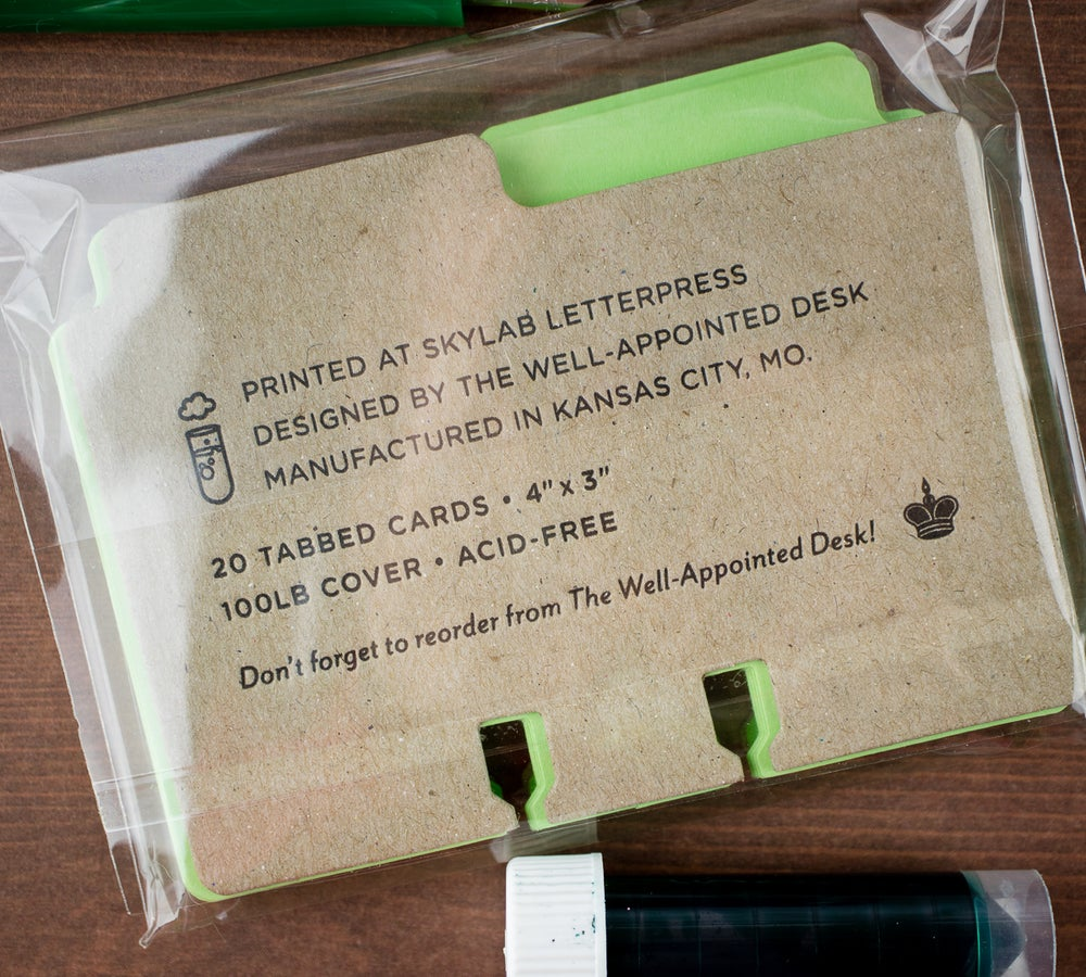Image of Col-o-dex Tab Accessory Pack