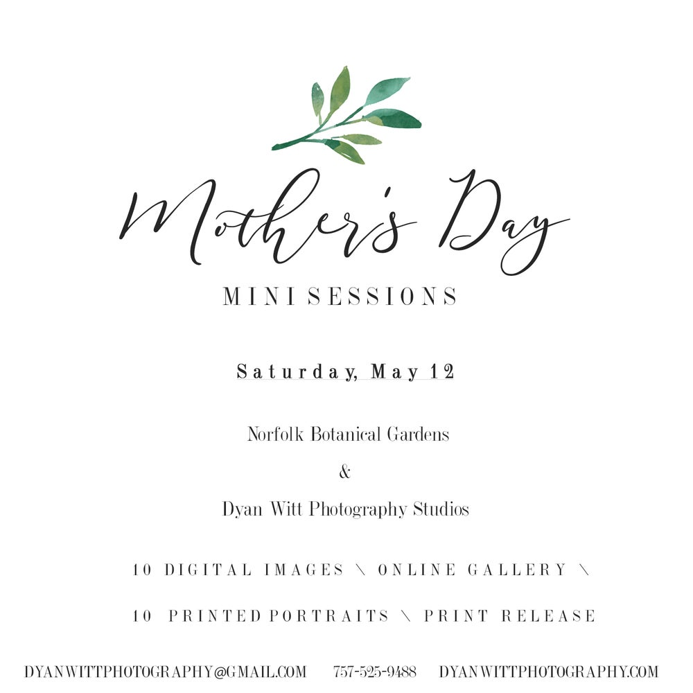 Image of Mother's Day Mini Sessions