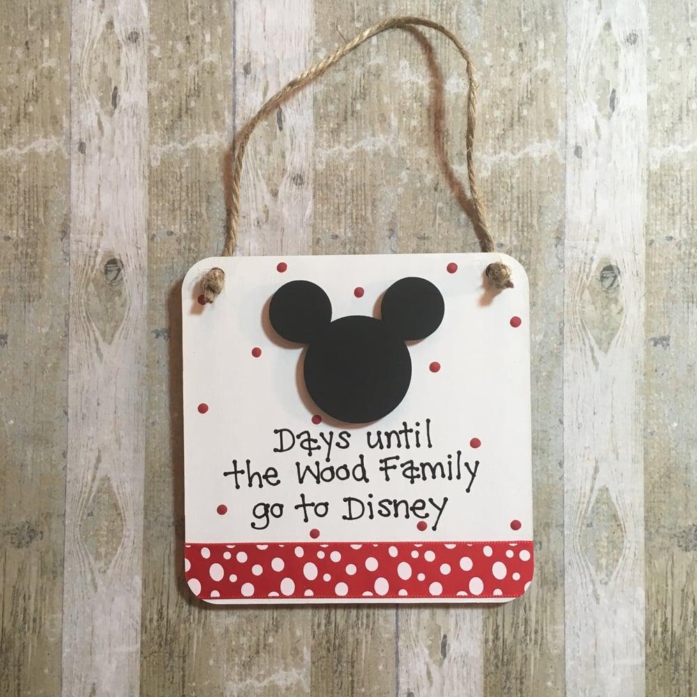 Image of Disney Countdown