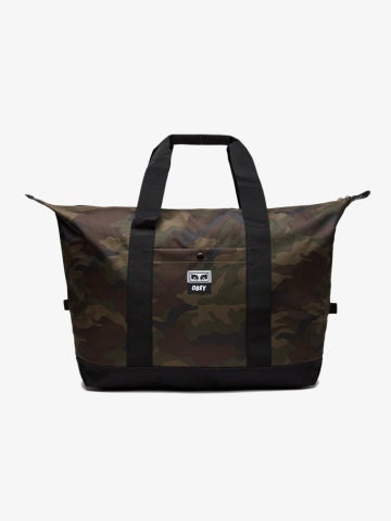 Image of OBEY - DROP OUT WEEKENDER DUFFLE (CAMO)