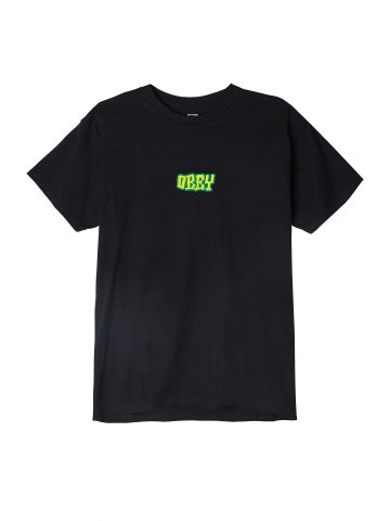 Image of OBEY - BETTER DAYS PREMIUM TEE (BLACK)